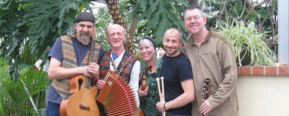 The Gnomes | Mike Fischman, Phil Edmonds, Cathy Clasper-Torch, Matt Niebels, Peter Breen